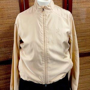 Ralph Lauren Golf Jacket Gold Size M
